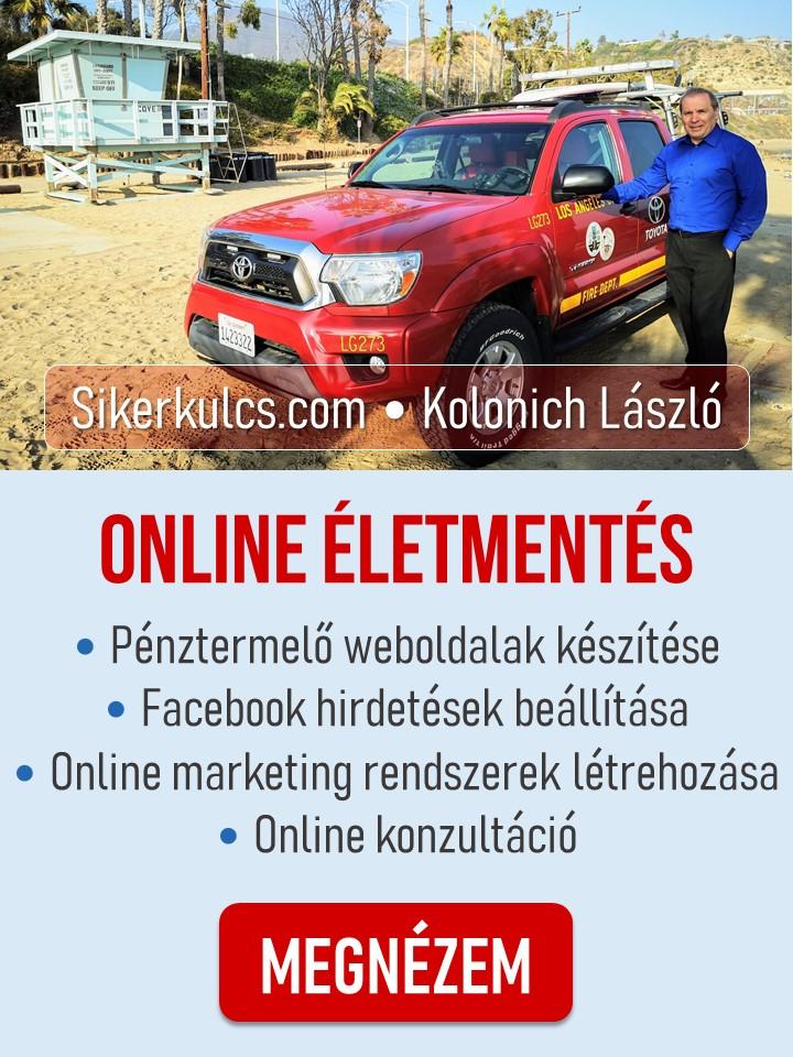 Online életmentés
